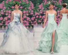 Aimee Atelier Something Tiffany Blue by MissBeckyB. | Wedding... liking the non-traditional wedding color