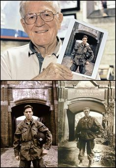 "Richard Winters, leader of Easy Company depicted in ""Band of Brothers"""