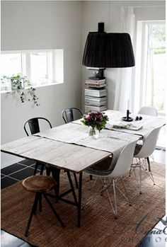 Harlem Home: How To: Build a Dining Room Table for $100
