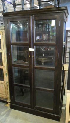 "Display Cabinet / Trophy Case HW1061 - $1087    45.5""W X 20.5""D X 79""H  #NadeauNashville"