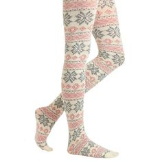 Come Away with Ski Tights found on Polyvore