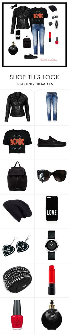 """""""Eclectic Collection"""" by michelechambers ❤ liked on Polyvore featuring VIPARO, Boohoo, Vans, Mansur Gavriel, Chanel, Halogen, Givenchy, Witch Worldwide, Movado and Swarovski"""
