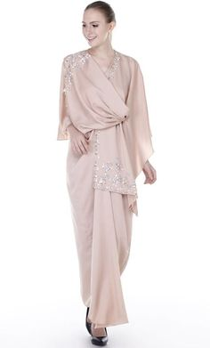 Available at I Love Hishma Ana Special Mall Jeddah Saudi Arabia Hijab Dress Party, Hijab Style Dress, Hijab Outfit, Modest Dresses, Simple Dresses, Casual Dresses, Muslim Fashion, Hijab Fashion, Fashion Outfits