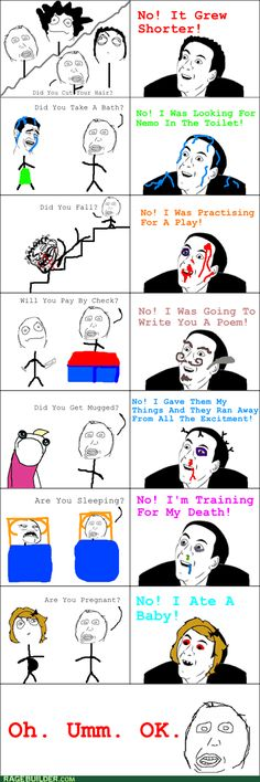 rage comics - Carry On Then!