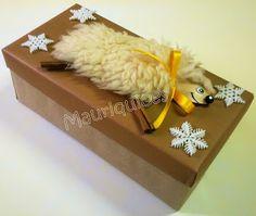 Mauriquices: Para um presente fofo uma fofa ovelha...