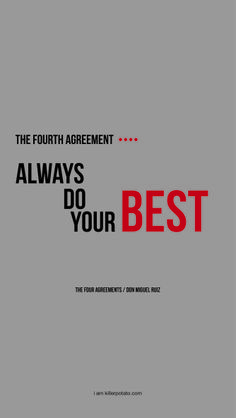 the fourth agreement // don miguel ruiz // iphone 5/5s/5c wallpaper by killerpotato.com