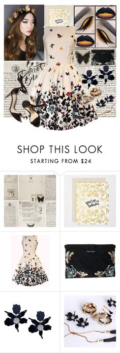 """""""You Give Me Butterflies"""" by brittanyyoung-ii ❤ liked on Polyvore featuring WALL and Miu Miu"""