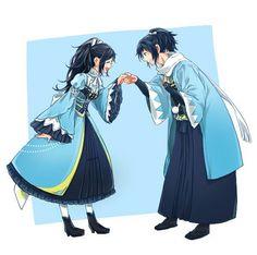 Anime Love, Anime Guys, Otaku, Couples Images, Bleach Anime, Couple Outfits, Couple Clothes, Jojo Bizzare Adventure, Cute Anime Character