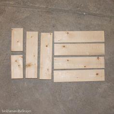 Beckham + Belle: Super Simple Kid's DIY 2x4 Wooden Step Stool
