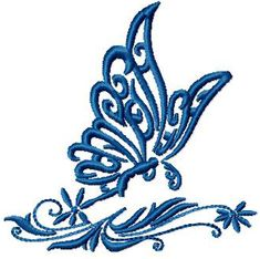 designs, FlutteringButterfly Free Embroidery Designs: ABC-Free-Machine-Embroidery-Designs.com Designs