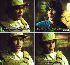 NO STOP I forgot that mount weather people didn't know Finn died!!!! || the 100