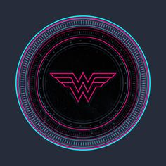 Check out this awesome 'Wonder+Woman+80s+Shield' design on @TeePublic!