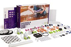 littleBits Electronics Gizmos & Gadgets Kit Good things come in tiny boxes. This is a great way to introduce computer and electronics to your child. This kit is a great introductory tool for understanding electronics at an early age.