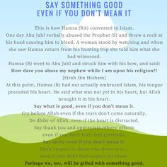 A nice reminder to be good even if you're not 'feeling' it.