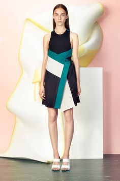 Resort 2015 Trend Report: Tie-Dye, Psychedelic Florals, Midi Skirts, and More