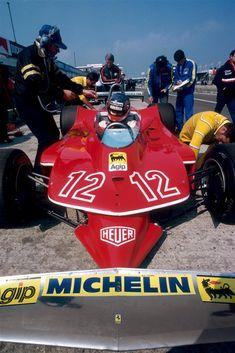 Gilles Villeneuve, Ferrari 312T5, 1979 British Grand Prix, Silverstone