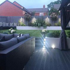 Garden Design Layout - New ideas Back Garden Design, Modern Garden Design, Contemporary Garden, Landscape Design, Modern Design, Back Garden Landscaping, Backyard Patio Designs, Garden Makeover, Outdoor Gardens