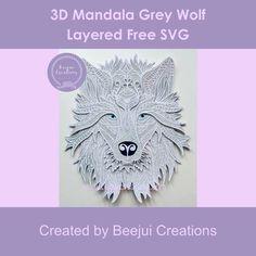 3d Paper Projects, Space Projects, Vinyl Projects, Paper Crafts, Free Mandalas, Cricut Tutorials, Cricut Ideas, Cricut Birthday Cards, Project Free