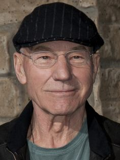 Sir Patrick Stewart. Actor. Campaigner to end violence against women.