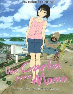 Poster de Momo e no Tegami (Una carta para Momo)