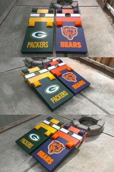 Green Bay Packers/Chicago Bears Set.