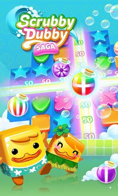 Scrubby dubby saga Mod Apk For Android Bubble Witch, Google Android, Candy Crush Saga, Challenging Puzzles, Kings Game, Soap Stars, Game Item, Farm Hero Saga, Free To Play