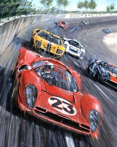An interesting story to come from the annuals of the Daytona 24 deals the Ford - Ferrari War and the '67 race.  As most of you know in 1963 Henry Ford II tried to buy Ferrari but his offer was rejected by Enzo Ferrari.  This did not please Ford so he embarked on an expensive ($72 million) program to build Ford powered race cars and then humiliate Ferrari on the tracks of America and Europe.  It took a couple of years but Ford's deep pockets were too much for the small Ferrari factory and by…