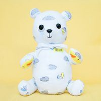 Make memory bear from baby sleeper! Finally found a good FREE pattern!