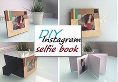 DIY: instagram selfie book /frame ( kim kardashian inspired craft )