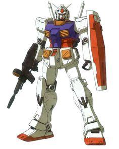 RX-78-2 Gundam Mobile Suit (Mobile Suit Gundam)