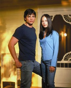 "Clark and Lana. Smallville. This is who we named my youngest daughter after. We just added the ""A"" in front of it. Alot of the time we just call her Lana though. Thank goodness it wasn't a year later or her name would be Sammy! HAHAHA"