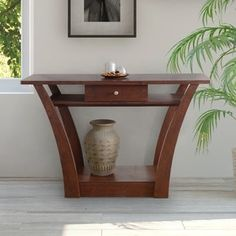 Furniture of America Magnolia Modern Dark Walnut Sofa Table Table Decor Living Room, Living Room Furniture, Home Furniture, Furniture Outlet, Modern Sofa Table, Sofa End Tables, Online Furniture Stores, Furniture Deals, Art Deco Furniture