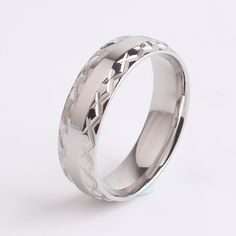 Find More Rings Information about 6mm Silver fork border 316L Stainless Steel finger rings for women men wholesale,High Quality ring factory,China fork rake Suppliers, Cheap ring options from Chinese Jewelry Factory,Wholesale From Yiwu China on Aliexpress.com
