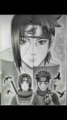 Find images and videos about anime, kawaii and manga on we heart it - the app to get lost in what you love. Otaku Anime, Anime Naruto, Naruto Shippuden Sasuke, Sasuke Und Itachi, Boruto, Fan Art Naruto, Kakashi Drawing, Naruto Drawings, Photo Naruto
