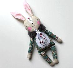 Handmade Easter Bunny Doll named Miffy