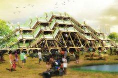 Aeroponic垂直ファーム:フィリピンのための高収量棚田水田| Inhabitat - グリーンデザイン、イノベーション、建築、グリーンビルディング