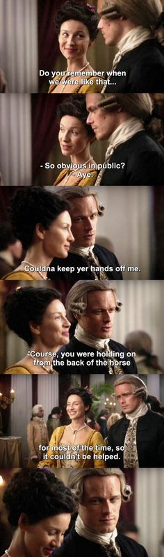 Outlander S03E12 - Jamie & Claire THIS ONE MOMENT WAS SO FRICKING SEXY OH MY GOD. DONT GET ME WRONG I LOVED THEIR REUNION BUT THIS, THIS IS TRUE LOVE. F R I C K