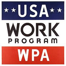 How did the WPA help repair the damages caused by The Great Depression (give five examples)? If you were a private business owner during the Great Depression, would you have supported a massive public agency such as the WPA and why or why not? Works Progress Administration, Wpa Posters, Arts And Crafts Storage, Great Depression, National Archives, Going To Work, The Book, 1930s, Federal