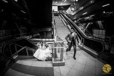 """""""...Corro demais Só pra te ver meu bem..."""" - #renatoemarina #weddingphotography #subway #underground #noivos #novios #bride #groom #ensaiocasamento #fotografiacasamentosp #weddingbrazil #sony #a7ii #sonyimages #blackwhite #p&b"""