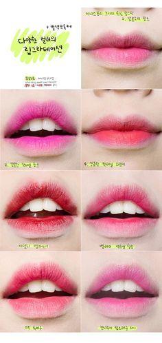 heyitsfeiii   Lips, Lip Tint and Gradient Lips