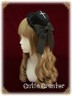 [Walpurgis Night] + singular Sacred + Cross Lolita small hat - Taobao global Station