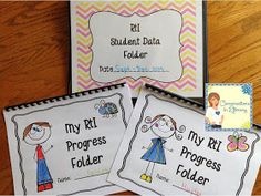 RtI Data Binder for Teachers and Students