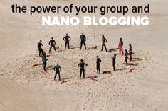 Are you a Nano Blogger? Is there even such a thing in real blogging terms?  We do have Micro-Blogging after all.