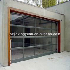 Vista Garage Doors   plena vista de vidrio transparente de puerta de garaje de los ...