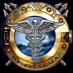 US Navy Hospitalman