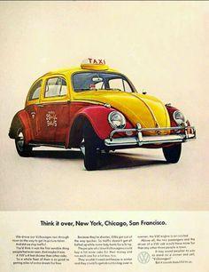 Vintage VW Ad...Taxi?!