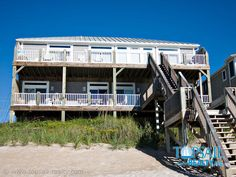 Topsail Island Oceanfront Vacation Rental | Surf City-South of Bridge | TREASURE #283