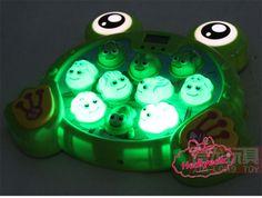 Çekiçli Kurbağa Avlama Oyunu Çekiç Vurmalı Dijital Pilli Sesli Oyuncak