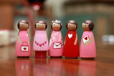 cute little peg dolls