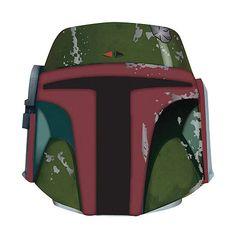 Star Wars Boba Fett Formed Foam Helmet Can Hugger Koozie